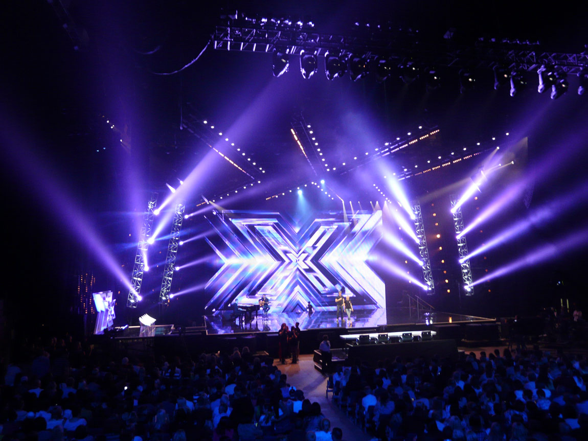 X Factor Lighting by ELP